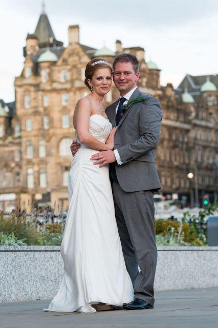Phil & Dis Wedding - Balmoral - Edinburgh (5)