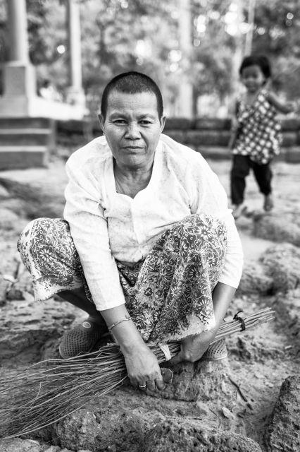 Portrait Angkor Wat Cambodia