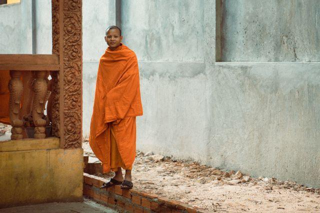 Monk - Siem Reap - Cambodia