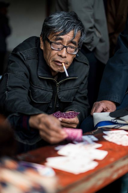 Street Photography - Playing Cards - Beijing - China