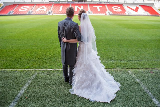 Dean & Katie Wedding - St Helens Rugby Ground