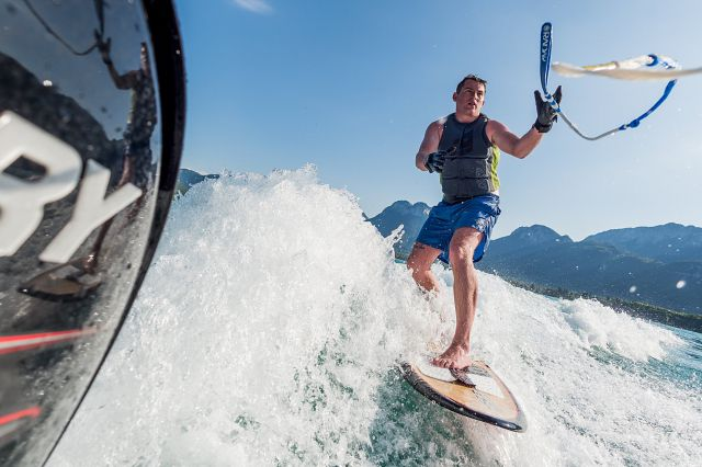 Water Skiing - Lake Annecy - France (1)