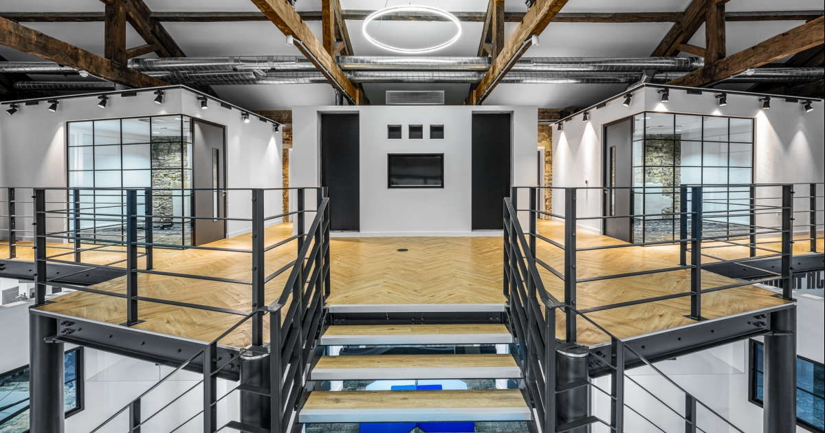 Architectural Photography @ Assembly Rooms - Contemporary Office Space